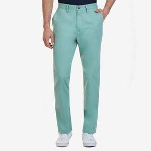 Nautica Men's Green Classic Fit Pants 34x30